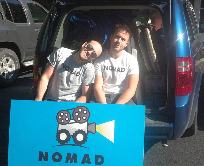 Nomad Cinema Van photo